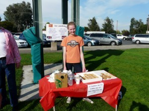2. Selling refreshments at the soccer