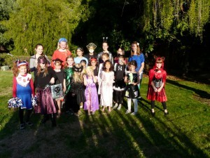 3. Organising a Halloween party